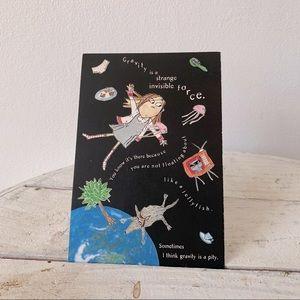 💌 Gravity Illustration post card